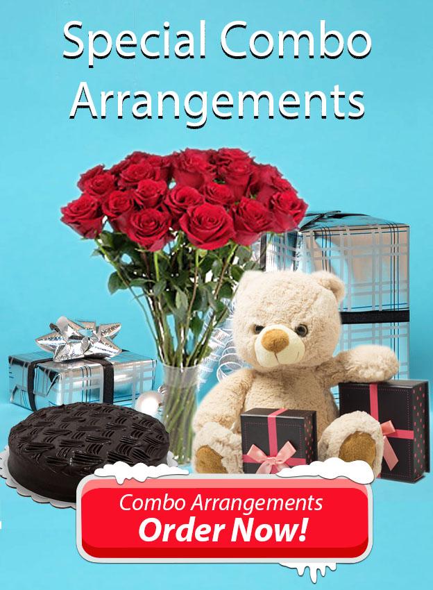 Combo Gifts Arrangements