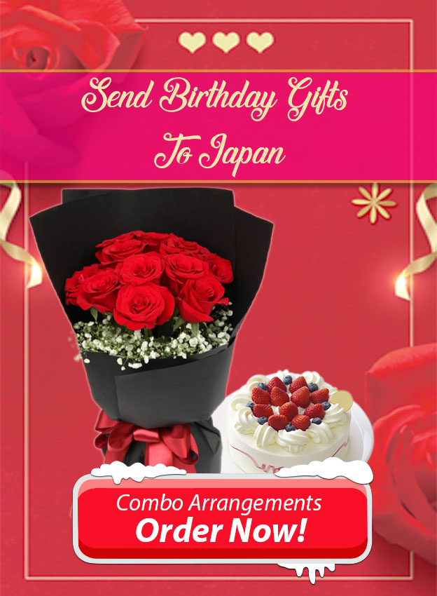 side banner send birthday gifts to japan