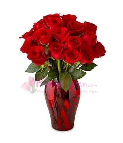 send 12 red rose of Joy to japan